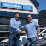 Overdracht auto met Marco van Beek